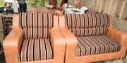 Complete Set Of Chair Leather+Cloth 3+2+1+1   Furniture for sale in Oyo State, Ibadan South West