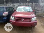 Toyota Highlander 2006 Red | Cars for sale in Lagos State, Alimosho