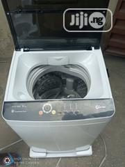 Hisense 8 KG Automatic Top Loader Washing Machine With Smart Control   Home Appliances for sale in Lagos State, Ojo
