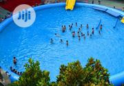 50 Feet Round Giant Swimming Pool (No Need for Blower, Just Pump It) | Sports Equipment for sale in Lagos State, Lagos Mainland