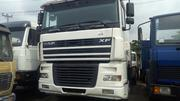 Daf 95 XF Flat Bed 2004 White | Trucks & Trailers for sale in Lagos State, Apapa