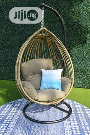 Cafe Outdoor Hanging Chair Wicker Furniture | Furniture for sale in Lagos State, Ikeja