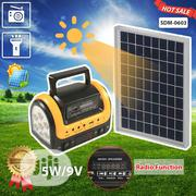 Solar Generator With Radio And Flashlight 5W9V European Plug | Solar Energy for sale in Lagos State, Ikeja