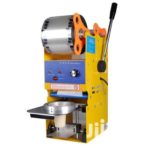 Semi-automatic Cup Sealing Machine