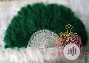 Green Traditional Wedding Hand Fan | Clothing Accessories for sale in Lagos State, Ajah