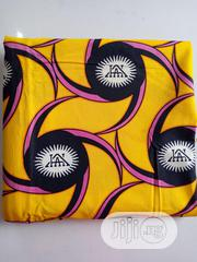 Yellow, Pink And Blue Black High Grade Ankara DC0011 | Clothing Accessories for sale in Lagos State, Agege