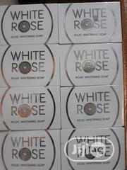 White Rose Kojic Whitening Soap With Shea Butter Skin Lightening | Skin Care for sale in Lagos State, Lagos Mainland