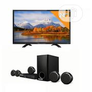Amani Home Theatre 5.1 With Bluetooth And Television- Black | Audio & Music Equipment for sale in Lagos State, Ikeja