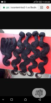 """Brazilian Hair 18"""" Body Wave and Closure. 