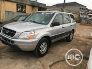 Honda Pilot 2004 EX 4x4 (3.5L 6cyl 5A) Gray | Cars for sale in Lagos State, Egbe Idimu