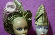 Well Tied Basket Aso Oke In Auto Gele Design | Clothing for sale in Lagos State, Ikeja