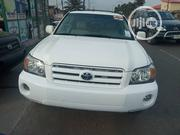 Toyota Highlander Limited V6 2005 White | Cars for sale in Lagos State, Isolo