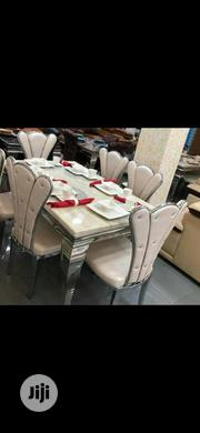 Brand New Imported Set Of Marble Dining Table With 6chairs. | Furniture for sale in Lagos State, Ojo