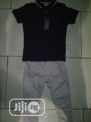 Boys Hilfiger Top With Chinos | Children's Clothing for sale in Lagos State, Ipaja