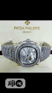 Patek Philipe Silver Wrist Watch for Men and Women | Watches for sale in Lagos State, Lagos Island
