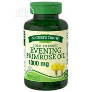 Evening Primrose Oil 1000 Mg - 60 Quick Release Softgels | Vitamins & Supplements for sale in Lagos State, Ipaja