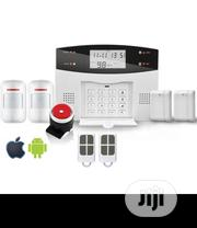 GSM Alarm + 99wireless + 6wired System English Motion Sensor Alarm | Security & Surveillance for sale in Lagos State, Ikeja