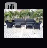 Brand New Rattan Fiber Outdoor Set of Chairs With Tables.   Furniture for sale in Lagos State, Ojo