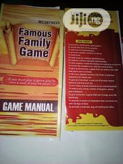 Famous Family Game | Books & Games for sale in Rivers State, Port-Harcourt