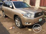 Toyota Highlander 2008 Gold | Cars for sale in Lagos State, Yaba