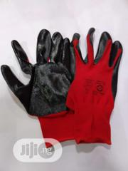 Red Nitrile Palm Glove | Safety Equipment for sale in Lagos State, Lagos Island