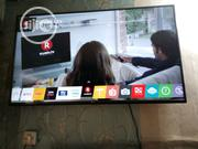 Uhd4k LG Smart T.V 55'' | TV & DVD Equipment for sale in Lagos State, Ojo