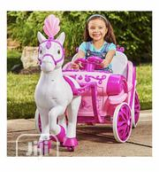 Disney Princess Royal Horse And Carriage, Girls 6V Battery Ride On | Toys for sale in Lagos State, Lagos Mainland