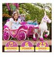 Disney Princess Royal Horse And Carriage, Girls 6V Battery Ride On | Toys for sale in Lagos State, Nigeria