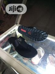 Real Black Leather Slippers   Shoes for sale in Lagos State, Orile
