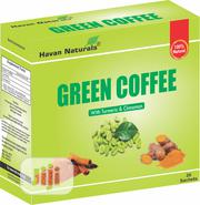Green Coffee With Cinnamon Turmeric | Vitamins & Supplements for sale in Abuja (FCT) State, Garki 2