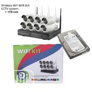 Wireless 8ch NVR Wifi CCTV System With 1TB Hard Disk | Security & Surveillance for sale in Lagos State, Lagos Mainland