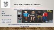 3D Design & Animations Online Training | Classes & Courses for sale in Lagos State, Agege