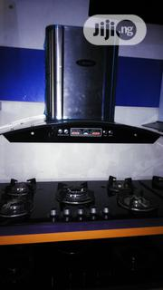 Bosch Cabinet 5burners Cooker And 90cm Hood With 2yrs Wrnty | Furniture for sale in Lagos State, Ojo