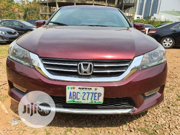 Archive: Honda Accord 2014 Red