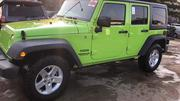 Jeep Wrangler 2013 Sport Green | Cars for sale in Lagos State, Lagos Mainland