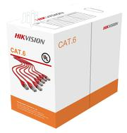 Hikvision Cat6 Utp Cable (Pure Copper) 305 Meters | Security & Surveillance for sale in Lagos State, Ikeja