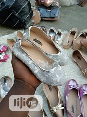 Girls Silver Color Ballerina Shoes | Children's Shoes for sale in Lagos State, Ilupeju