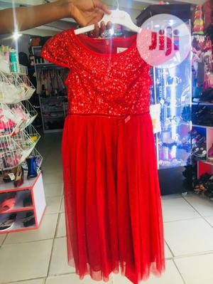 Quality Girl's Gown in Red