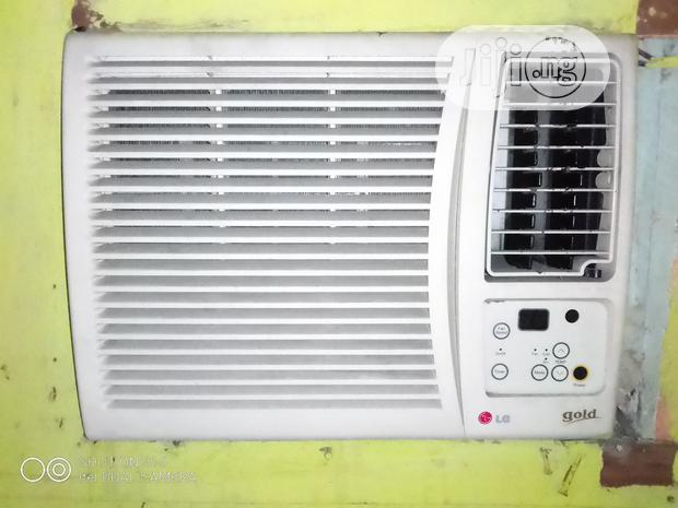 "Archive: Automatic LG Gold Window Unit Ac. Working Perfectly 1""Horse Power"