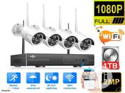 4 Channels Wi-fi CCTV Security Cameras With Motion Recording Mode | Security & Surveillance for sale in Lagos State, Ikeja