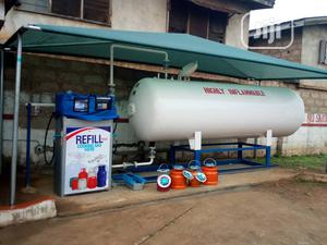 Complete Installation Of 2.5tons LPG Tank,With Auto Dispenser