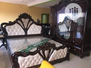 Wooden Bed With Wardrobe | Furniture for sale in Lagos State, Ojo