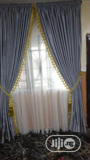 Beautifully Designed Curtain 5ft by 8ft | Home Accessories for sale in Lagos State, Lagos Mainland