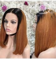 Ombre Silky Straight Closure Wig   Hair Beauty for sale in Lagos State, Surulere