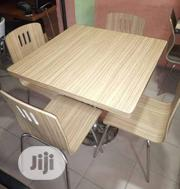 High Quality Restaurant Table And 4 Chairs | Furniture for sale in Lagos State, Lagos Mainland