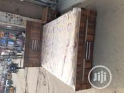 Bed Frame Wit Original Mouka Mattress | Furniture for sale in Lagos State, Ojo