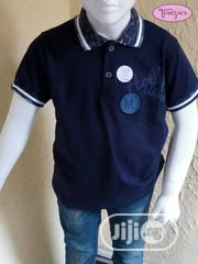 Toddler Boy's Polo - Navy Blue (1 to 3 Years) | Children's Clothing for sale in Lagos State, Lagos Mainland
