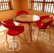 Good Quality Resturant Table With 3 Chairs. | Furniture for sale in Abuja (FCT) State, Gwarinpa