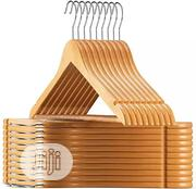 Cheap Factory Price Suit/Clothes Wooden Hanger   Home Accessories for sale in Lagos State, Lagos Island