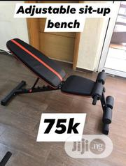 Commercial Adjustable Sit Up Bench | Sports Equipment for sale in Niger State, Minna